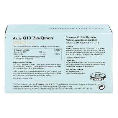 Q10 Bio Qinon Gold 100 mg Pharma Nord Kapseln  bei apotheke.at bestellen