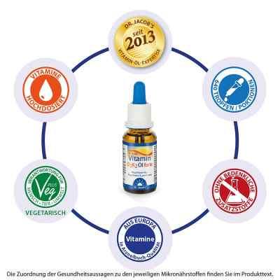 Dr. Jacob's Vitamin D3K2 Öl forte  bei apotheke.at bestellen