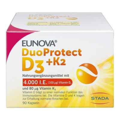 Eunova Duoprotect D3+k2 4000 I.e./80 [my]g Kapseln  bei apotheke.at bestellen