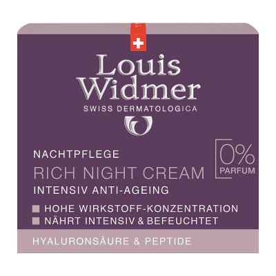 Widmer Rich Night Cream unparfümiert  bei apotheke.at bestellen