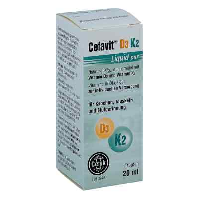 Cefavit D3 K2 Liquid pur Tropfen zum Einnehmen  bei apotheke.at bestellen