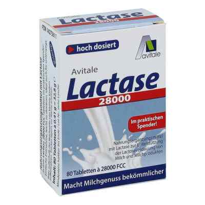 Lactase 28.000 Fcc Tabletten im Spender  bei apotheke.at bestellen