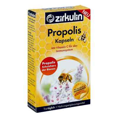 Zirkulin Propolis Kapseln mit Vitamin C  bei apotheke.at bestellen