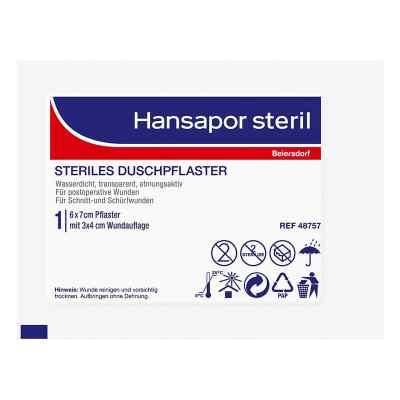 Hansapor steril Duschpflaster 6x7 cm  bei apotheke.at bestellen