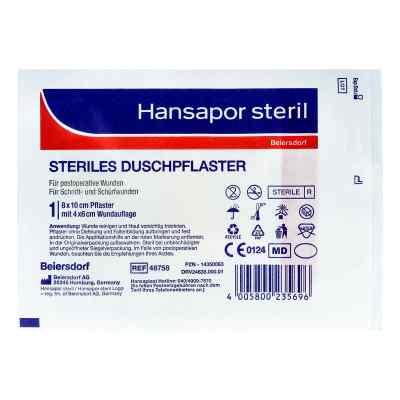 Hansapor steril Duschpflaster 8x10 cm  bei apotheke.at bestellen