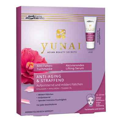 Yunai Anti-falten-maske 25g+aktiv.lifting-ser.4ml  bei apotheke.at bestellen
