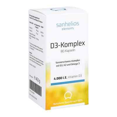 Sanhelios Vitamin D3 Sonnenvitamin-komplex mit K2  bei apotheke.at bestellen