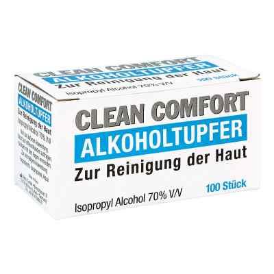 Clean Comfort Alkoholtupfer  bei apotheke.at bestellen