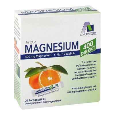 Magnesium 400 direkt Orange Portionssticks  bei apotheke.at bestellen