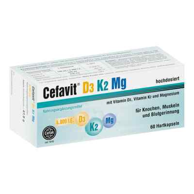 Cefavit D3 K2 Mg 4.000 I.e. Hartkapseln  bei apotheke.at bestellen