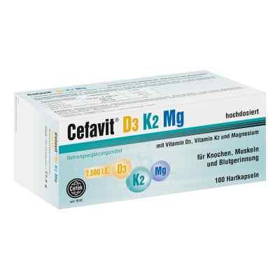 Cefavit D3 K2 Mg 7.000 I.e. Hartkapseln  bei apotheke.at bestellen