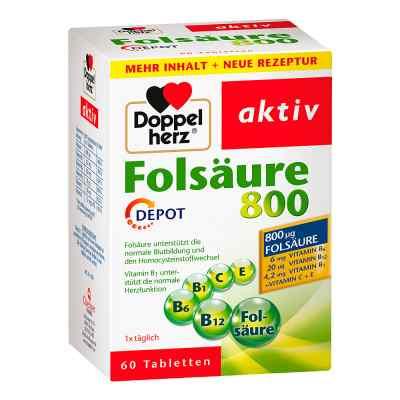 Doppelherz Folsäure 800 Depot Tabletten  bei apotheke.at bestellen