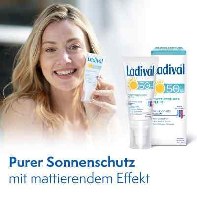 Ladival Sonnenschutz Gesicht Fluid mattierend LSF 50+  bei apotheke.at bestellen