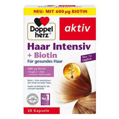 Doppelherz Haar Intensiv+biotin Kapseln  bei apotheke.at bestellen