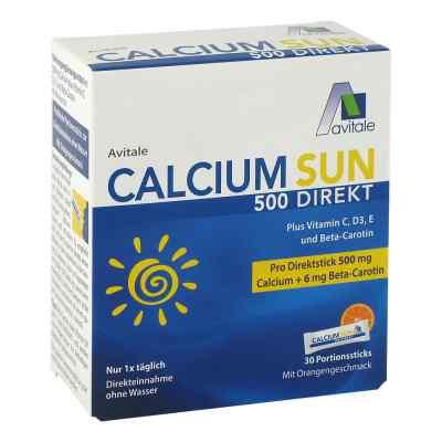 Calcium Sun 500 Direkt Portionssticks  bei apotheke.at bestellen
