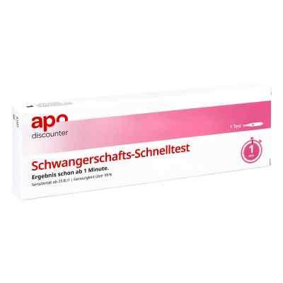 Schwangerschaftstest Schnelltest ab 25ie/l Urin von apo-discount  bei apotheke.at bestellen