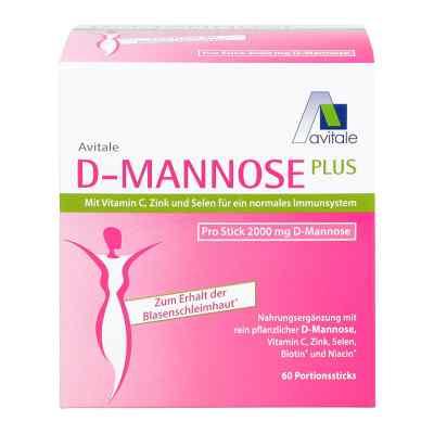 D-Mannose Plus 2000 mg mit Vitamine und Mineralstoffe Sticks  bei apotheke.at bestellen