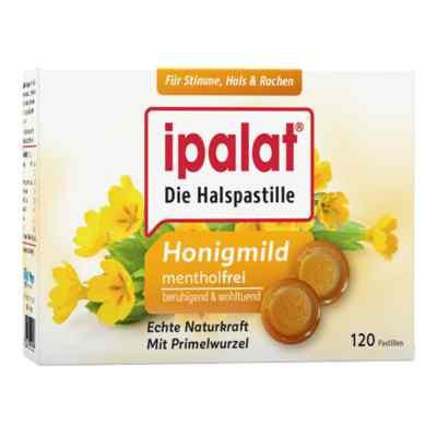 Ipalat Halspastillen honigmild ohne Menthol zuckerfrei  bei apotheke.at bestellen