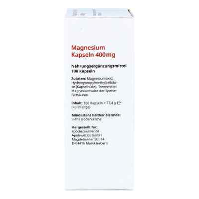 Magnesium Kapseln 400 mg von apo-discounter  bei apotheke.at bestellen