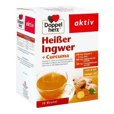 Doppelherz heisser Ingwer+curcuma Beutel  bei apotheke.at bestellen