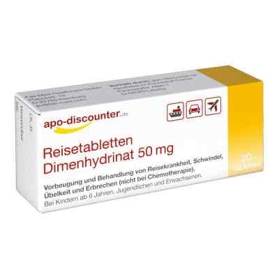 Reisetabletten Dimenhydrinat 50 mg Tabletten von apo-discounter  bei apotheke.at bestellen