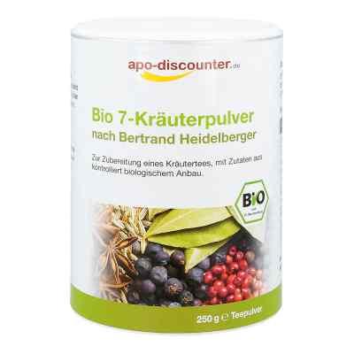 Bio 7-Kräuterpulver nach Bertrand Heidelberger von apo-discounte  bei apotheke.at bestellen