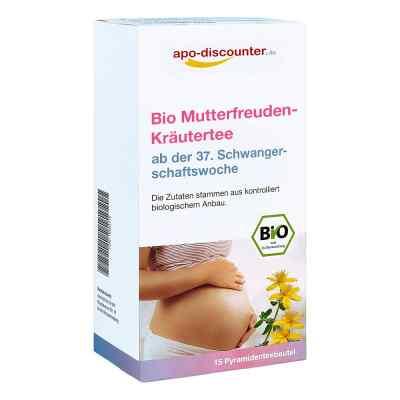 Bio Mutterfreuden-Kräutertee mit Himbeerblätt.Fbtl. von apo-disc  bei apotheke.at bestellen