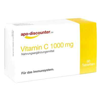 Vitamin C1000 mg Tabletten von apo-discounter  bei apotheke.at bestellen