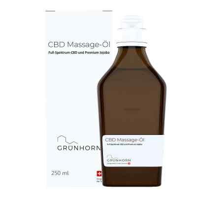 Grünhorn Cbd Massage-öl  bei apotheke.at bestellen