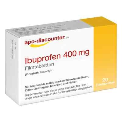 Ibuprofen 400 mg Filmtabletten von apo-discounter  bei apotheke.at bestellen