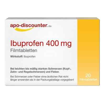 Ibuprofen 400 mg FTA Schmerztabletten von apo-discounter  bei apotheke.at bestellen