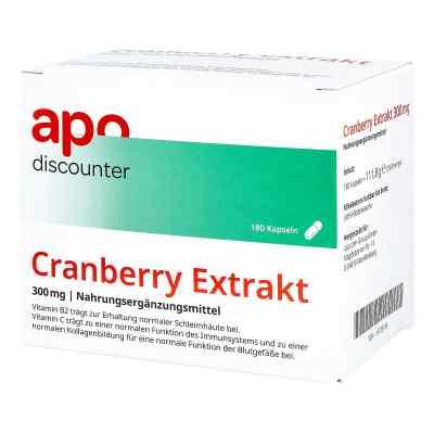 Cranberry Extrakt 300 mg Kapseln von apo-discounter  bei apotheke.at bestellen