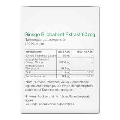 Ginkgo Bilobablatt Extrakt 80 mg Kapseln von apo-discounter  bei apotheke.at bestellen