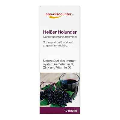 Heisser Holunder Pulver Beutel von apo-discounter  bei apotheke.at bestellen