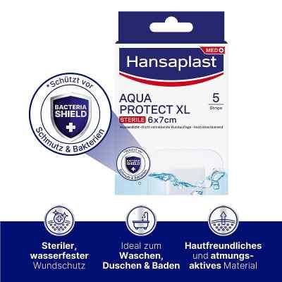 Hansaplast Wundverband Aqua Protect XL 6x7  bei apotheke.at bestellen