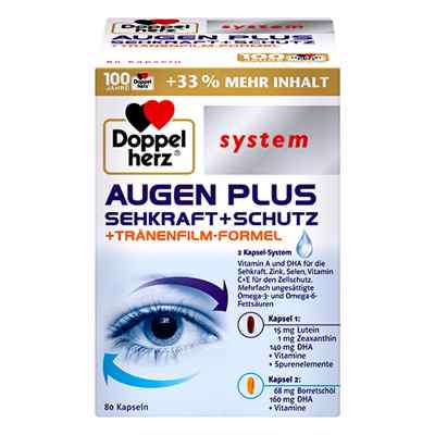 Doppelherz Augen Plus Sehkraft+schutz System Kapseln  bei apotheke.at bestellen
