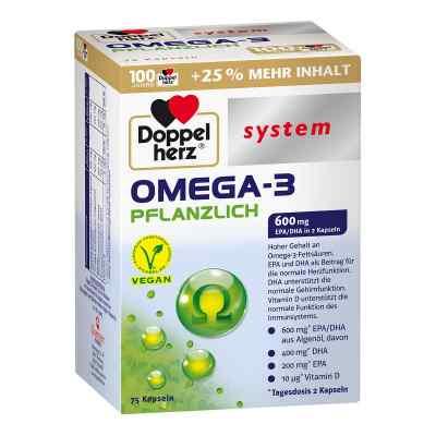 Doppelherz Omega-3 Pflanzlich System Kapseln  bei apotheke.at bestellen