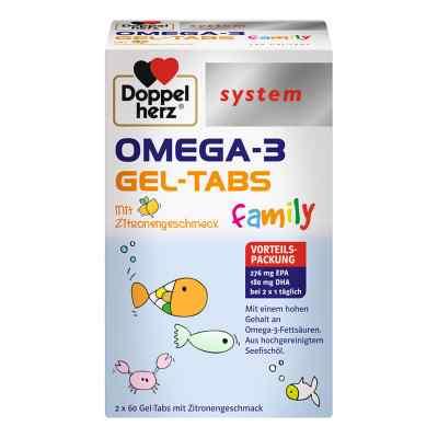 Doppelherz Omega-3 Gel-tabs Family  bei apotheke.at bestellen