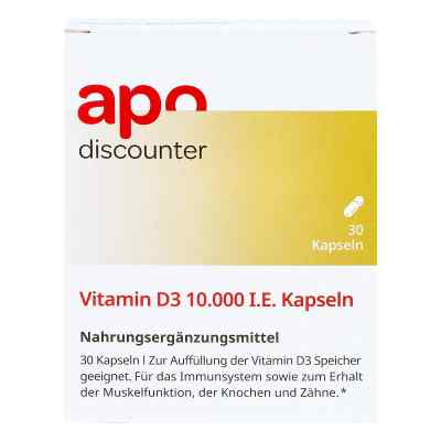 Vitamin D3 10.000 I.e. Kapseln  bei apotheke.at bestellen