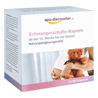 Schwangerschafts Kapseln von apo-discounter  bei apotheke.at bestellen