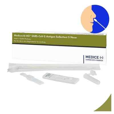 Laientest Medicovid-ag Sars-cov-2 Antigen Selbsttest Nase  bei apotheke.at bestellen